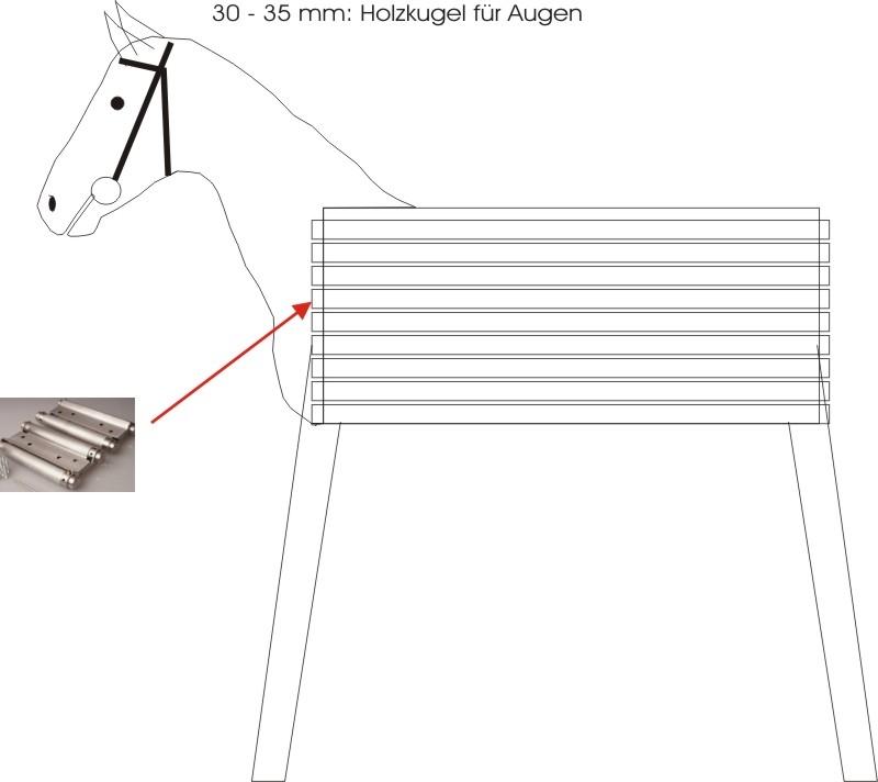 Holzpferd Bauanleitung Zum Selberbauen 1 13
