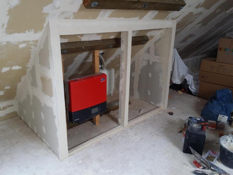 Bekannt Auf dem Dachboden eine Trockenbau Wand/Schrank errichten GI61