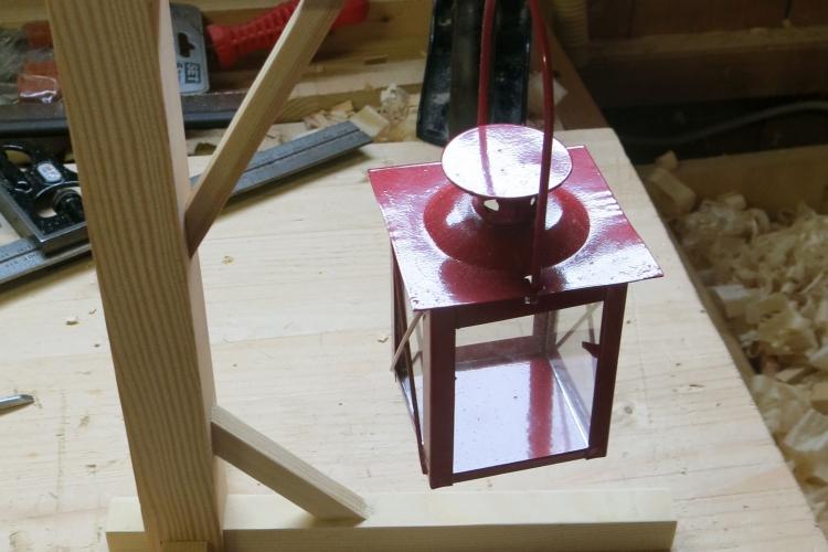 Ein kleiner Galgen - Bauanleitung zum Selberbauen - 1-2-do