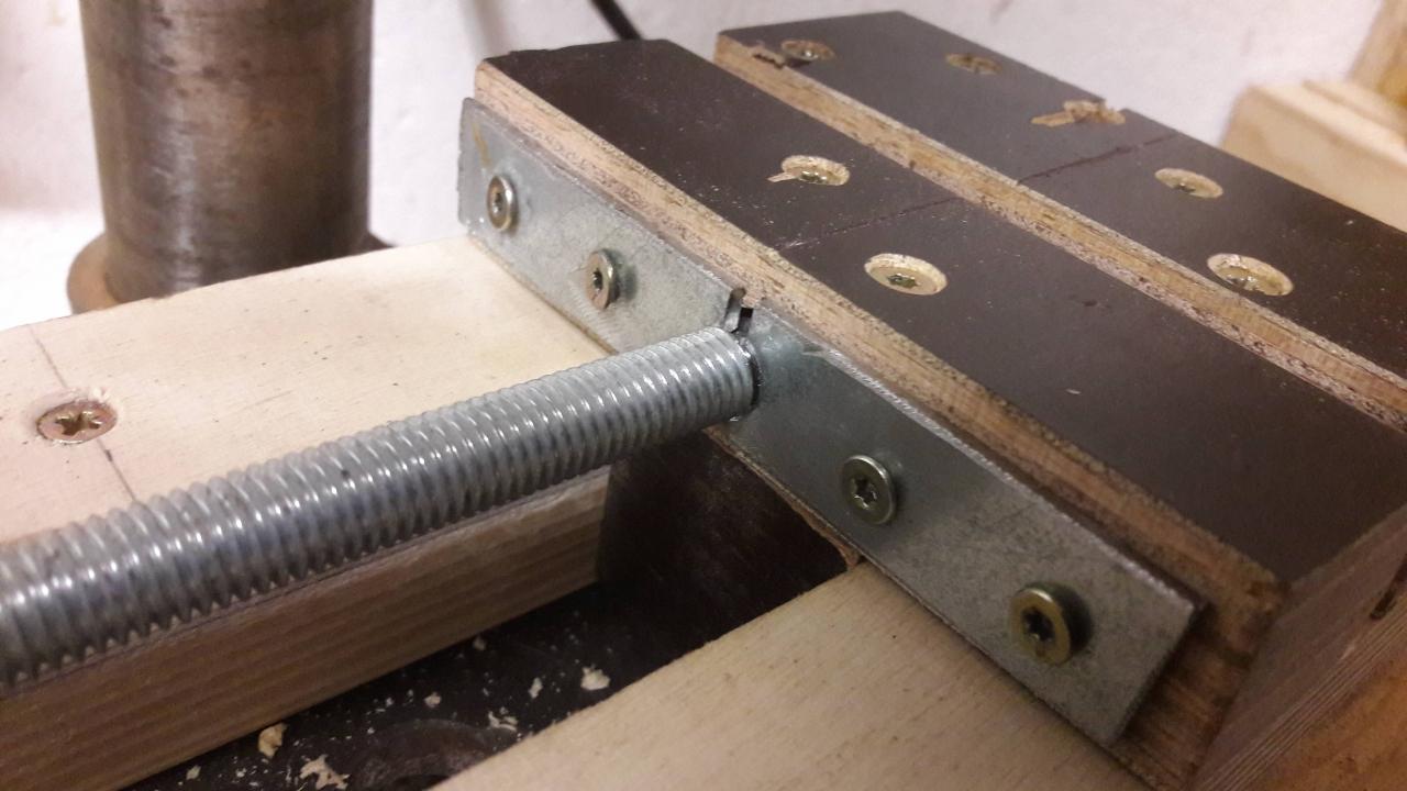 Extrem Bohrmaschinen Schraubstock - Bauanleitung zum Selberbauen - 1-2-do UA16