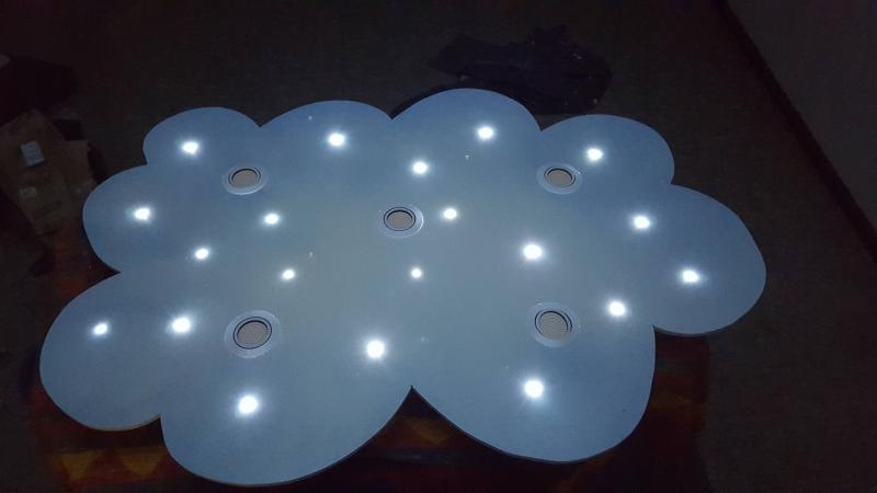 Great LED Wolkenlampe Kinderzimmer   Bauanleitung Zum Selberbauen   1 2 Do.com    Deine Heimwerker Community