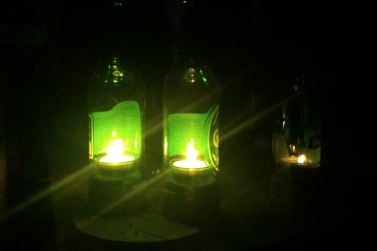 bierflaschen windlicht bauanleitung zum selberbauen 1 2 deine heimwerker community. Black Bedroom Furniture Sets. Home Design Ideas