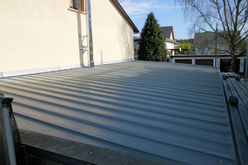 Beliebt Trapezblech Dach erstellen oder Das blutige Dach! - Bauanleitung NF92