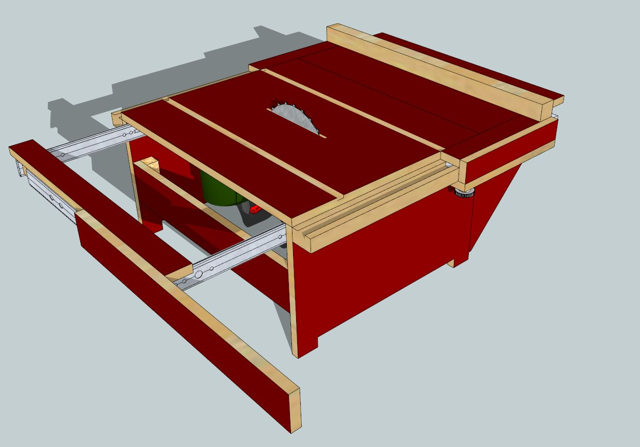 handkreissäge pks 66 als tischkreissäge - bauanleitung zum