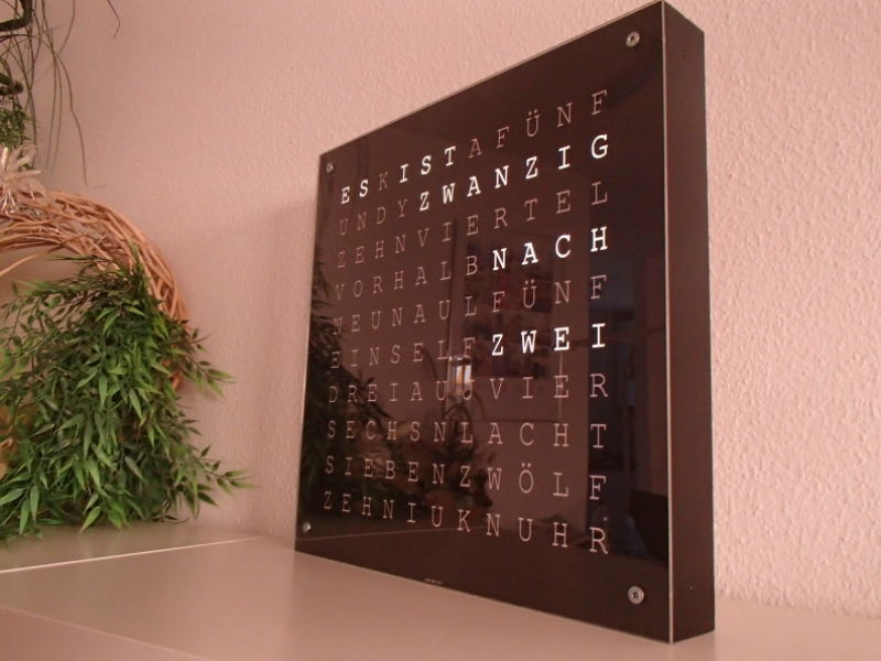 Word Clock - Bauanleitung zum Selberbauen - 1-2-do.com - Deine ...