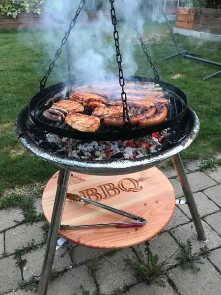 BBQ Grill Unterlage
