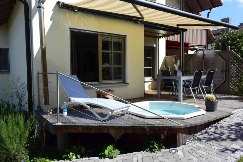 Terrasse Mit Badezuber Bauanleitung Zum Selberbauen 1 2