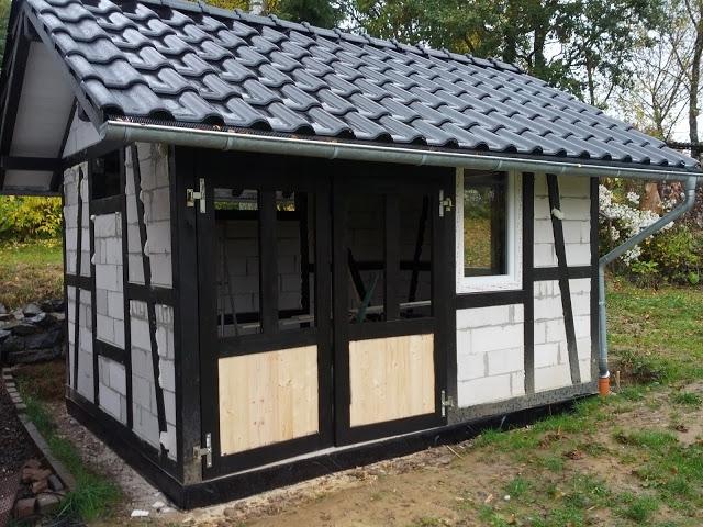 Fabulous Bau eines Fachwerkhaus - Bauanleitung zum Selberbauen - 1-2-do.com YG81