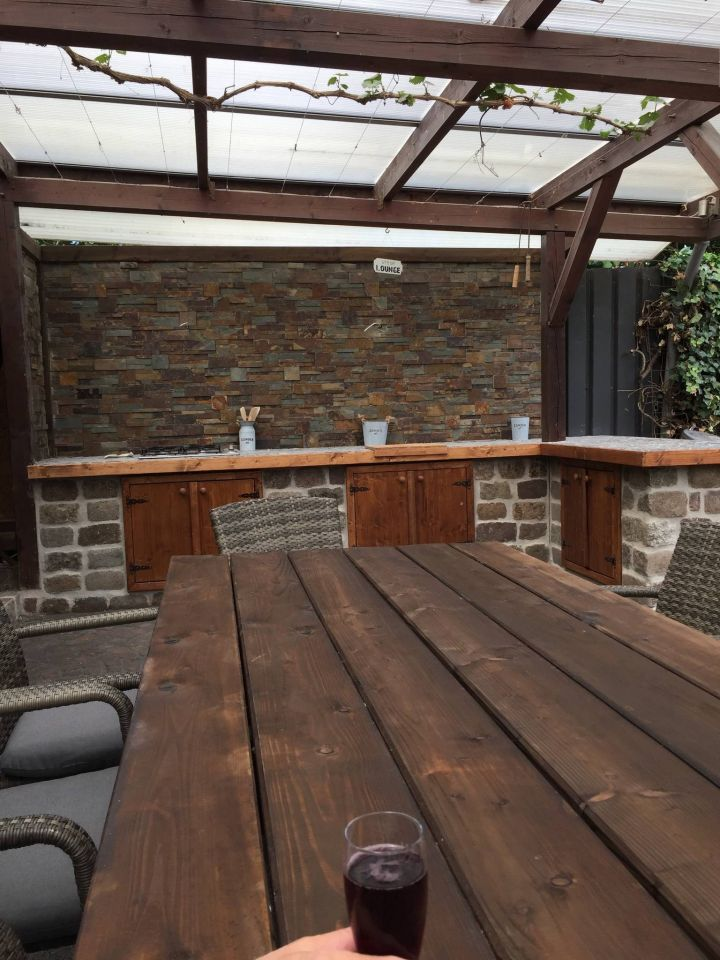 Aussenkuche Terrasse Bauanleitung Zum Selberbauen 1 2 Do Com