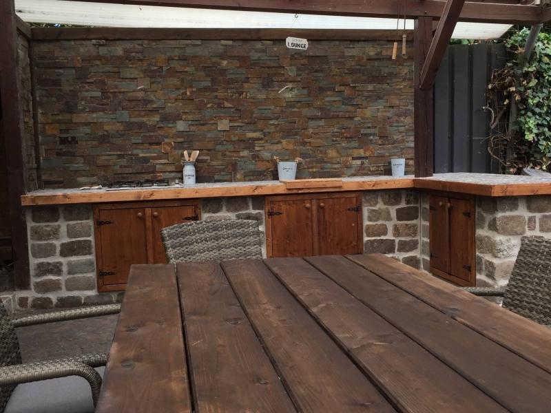 Steine Für Außenküche : ▷ ideen für außenküche selber bauen beispiele für