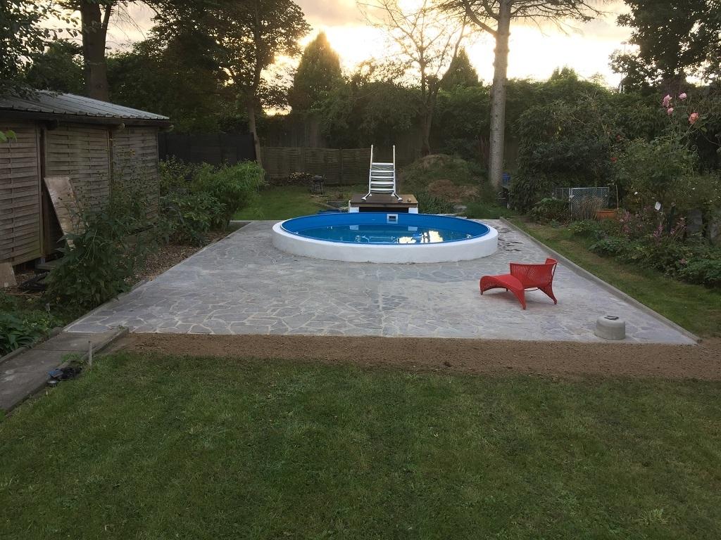 pool im garten - bauanleitung zum selberbauen - 1-2-do - deine