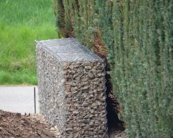 Gabionen Setzen Stutzmauer Bauanleitung Zum Selberbauen 1 2 Do