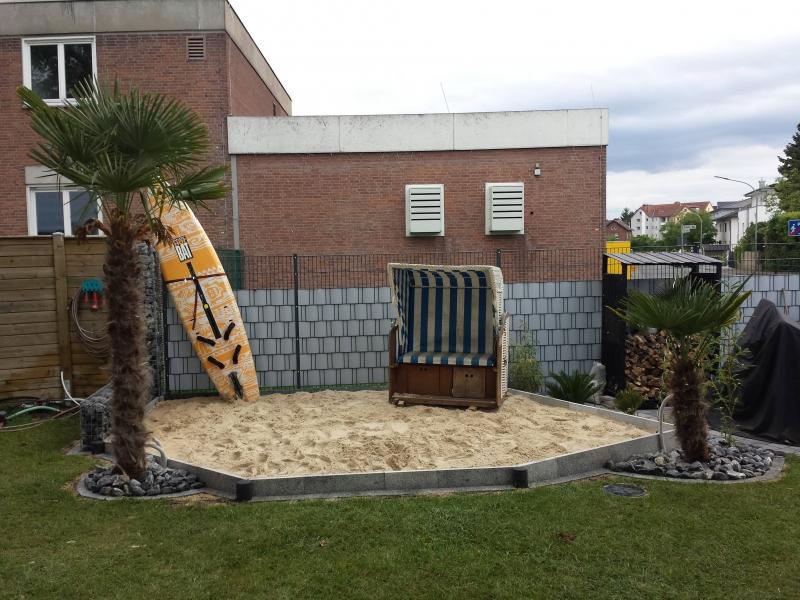 Sandkasten Mit Mediterranem Flair Bauanleitung Zum Selberbauen 1