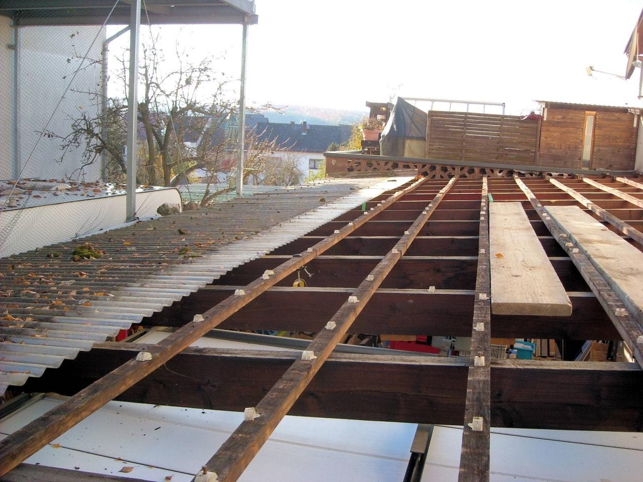 Bevorzugt Trapezblech Dach erstellen oder Das blutige Dach! - Bauanleitung LC83