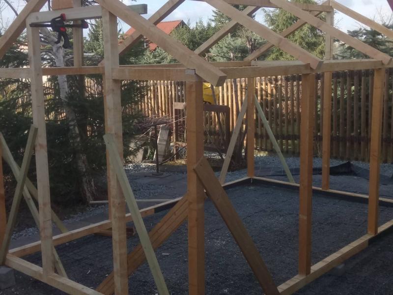 Der Bau eines Gewächshauses - Bauanleitung zum Selberbauen - 1-2-do ...