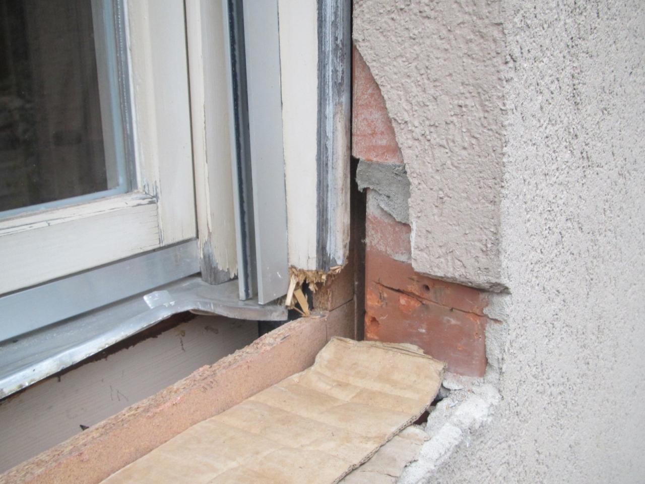Gut gemocht Fensterbänke entfernen für den Einbau neuer Fenster - Bauanleitung JR36