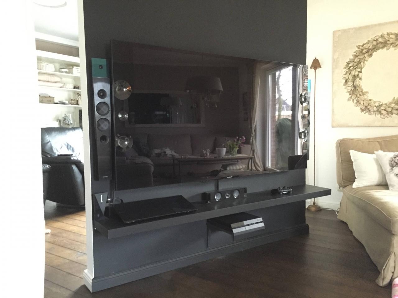 Drehbare TV Wand Als Raumteiler   Bauanleitung Zum Selberbauen   1 2 Do.com    Deine Heimwerker Community