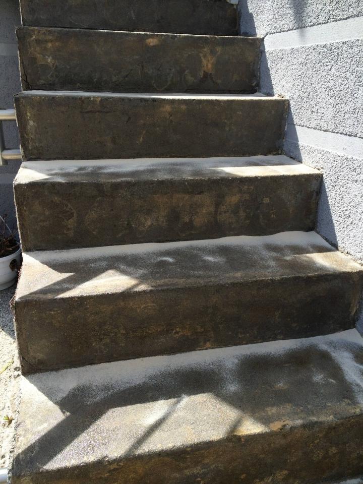 Favorit Außentreppe mit Steinteppich sanieren - Bauanleitung zum GO63