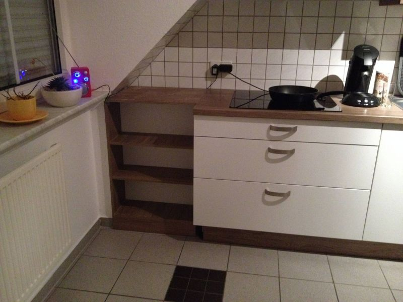 Küchenregal als Erweiterung zur Arbeitsplatte - Bauanleitung zum ...