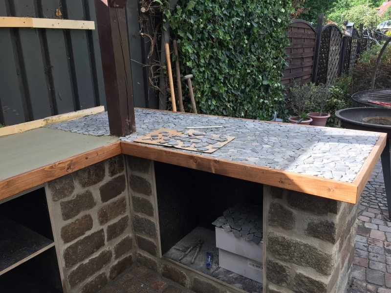 Außenküche Selber Bauen Holz : Außenküche selber bauen holz: frische außenküche selber bauen holz