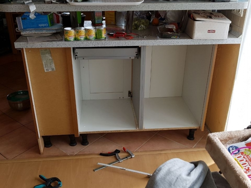 Küchenschrank umbauen mit Schubfächern - Bauanleitung zum ...