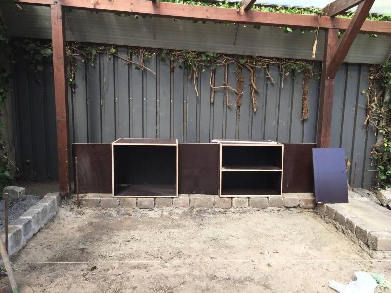 Fundament Für Außenküche : Außenküche