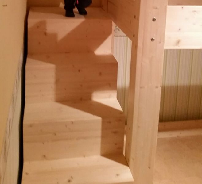 Fabulous Treppe zum Hochbett - Bauanleitung zum Selberbauen - 1-2-do.com GO64