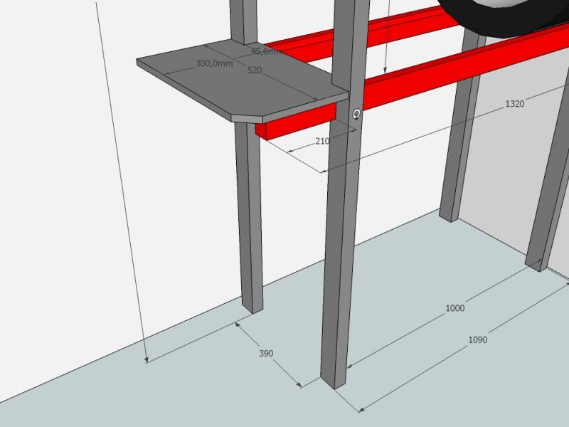 reifenregal platzsparende lagerung der sommer bzw winterr der ordnung in der garage. Black Bedroom Furniture Sets. Home Design Ideas