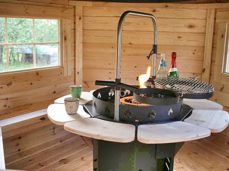 skandinavische grillh tte aufbauen bauanleitung zum selberbauen 1 2 deine. Black Bedroom Furniture Sets. Home Design Ideas
