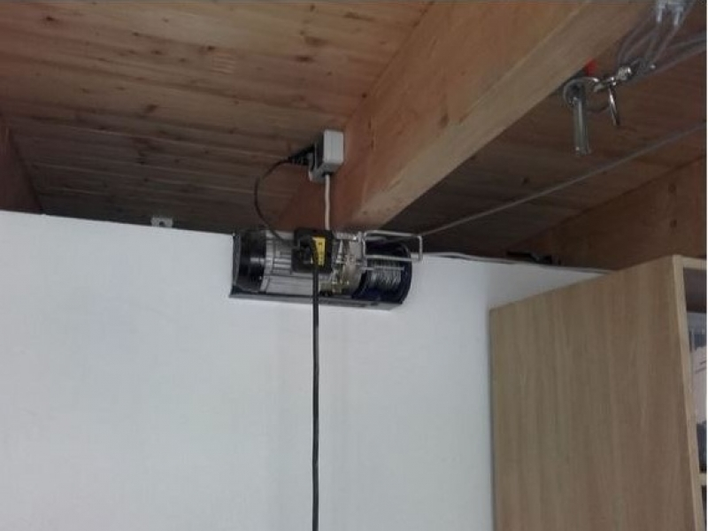 seilzug f r dachbox in der garage bauanleitung zum selberbauen 1 2 deine heimwerker. Black Bedroom Furniture Sets. Home Design Ideas