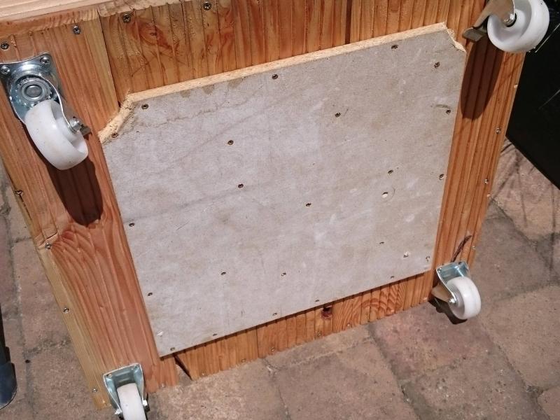 fahrbarer st nder f r den ampelschirm bauanleitung zum selberbauen 1 2 deine. Black Bedroom Furniture Sets. Home Design Ideas