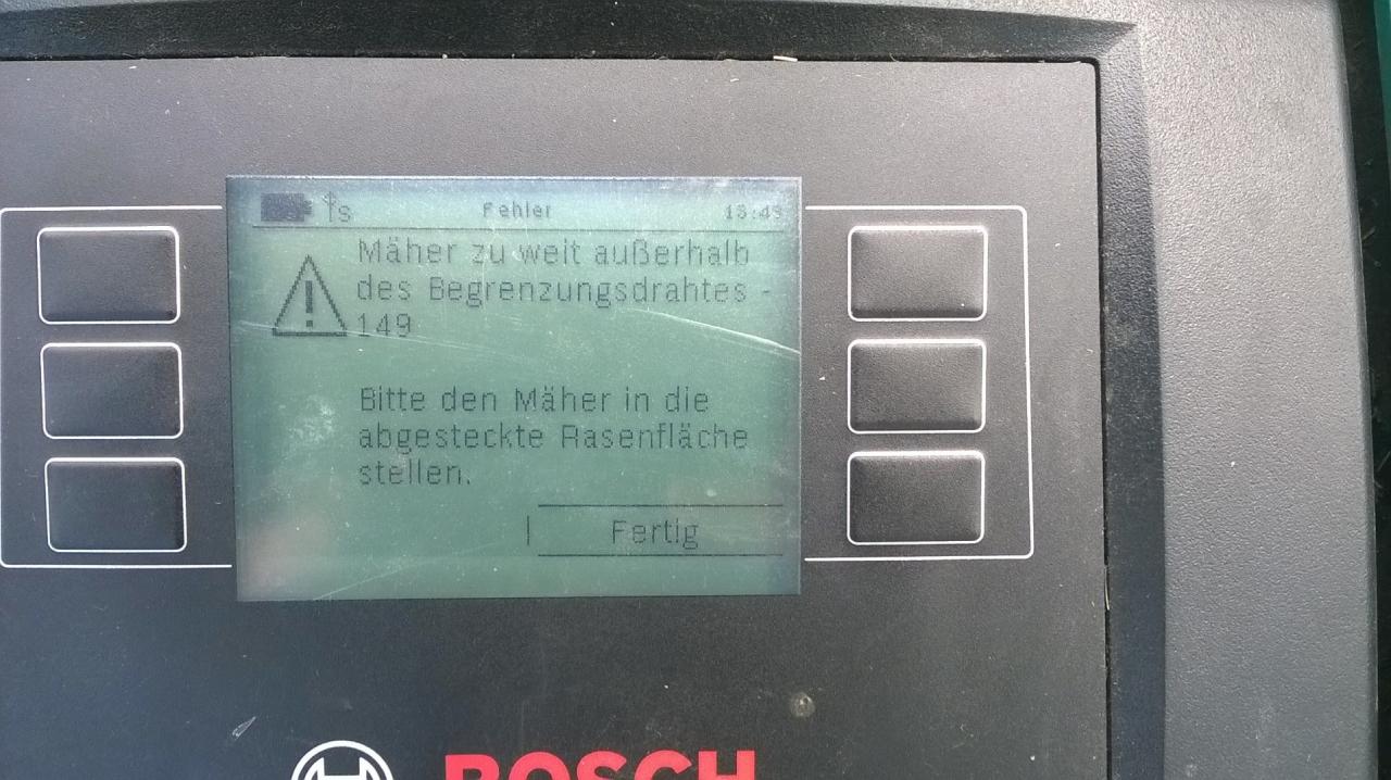 Update 03042017 Fehlersuche Indego Bauanleitung Zum Selberbauen