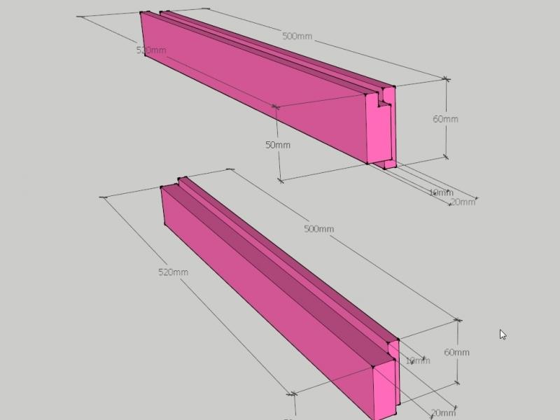 Bau von Shoji-Türen - Japanzimmer Teil2 - Bauanleitung zum ...