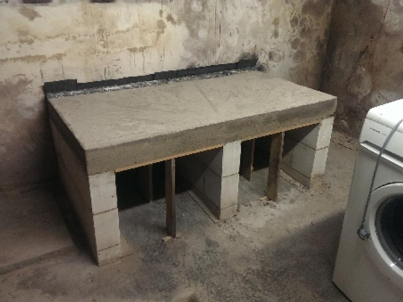 podest f r waschmaschine und trockner bauanleitung zum selberbauen 1 2 deine. Black Bedroom Furniture Sets. Home Design Ideas