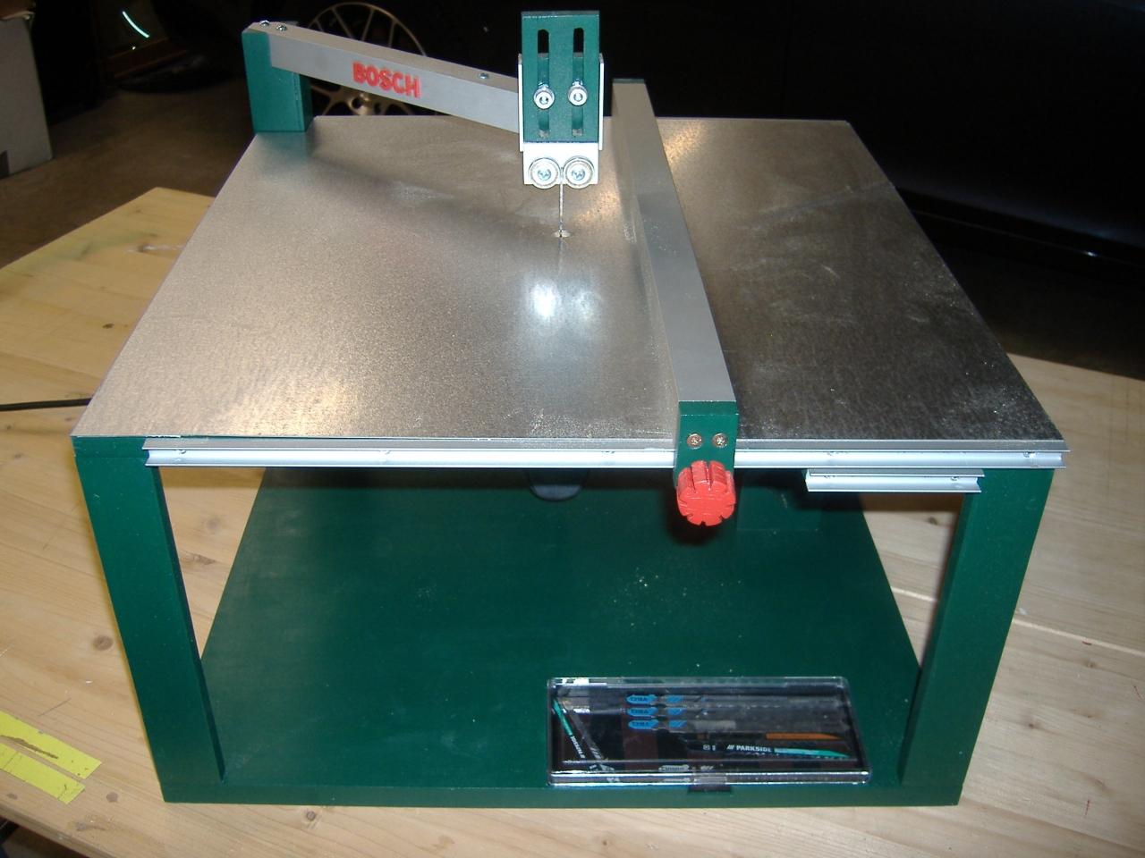 Stichsagetisch Bosch Style Bauanleitung Zum Selberbauen 1 2 Do