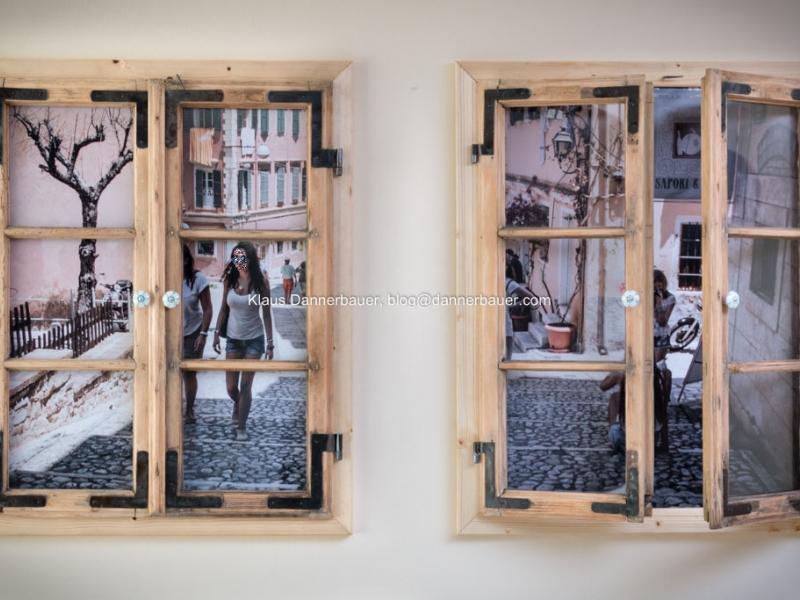 Bilderrahmen aus alten Holzfenster - Bauanleitung zum Selberbauen ...