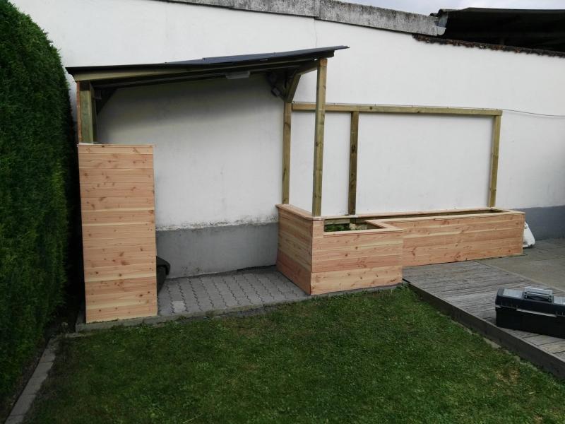 Sommerküche Diy : Sommerküche mit hochbeet bauanleitung zum selberbauen do