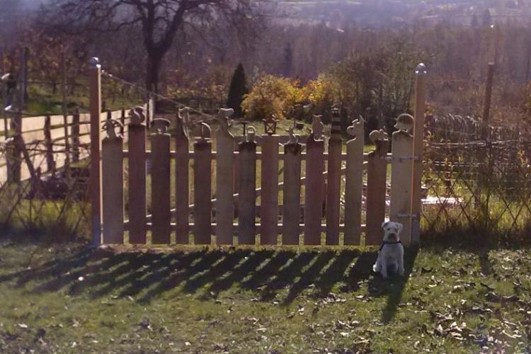 Gartentor mit figuren bauanleitung zum selberbauen 1 2 deine heimwerker community - Bauanleitung gartentor ...