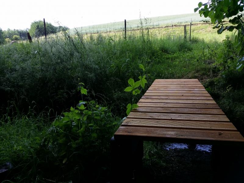 Sehr einfache Brücke über einen Bach bauen - Bauanleitung zum BV22