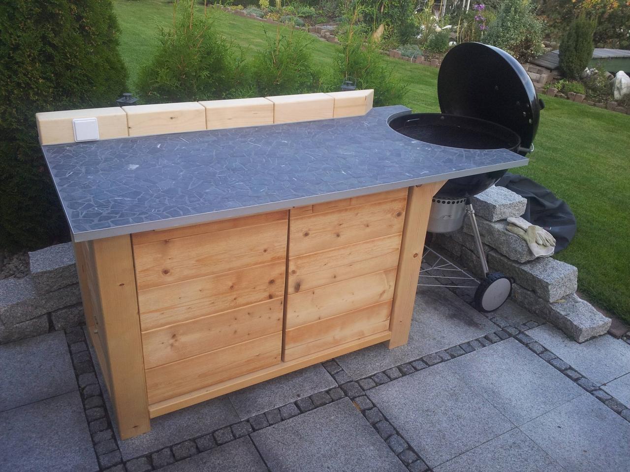 grill - / gartenküche - bauanleitung zum selberbauen - 1-2-do