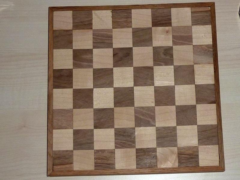 Ein Schachbrett Mit Der Tischkreissäge Bauanleitung Zum