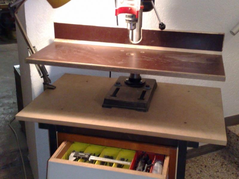 bohrwagen und anschlag f r st nderbohrmaschine bauanleitung zum selberbauen 1 2. Black Bedroom Furniture Sets. Home Design Ideas