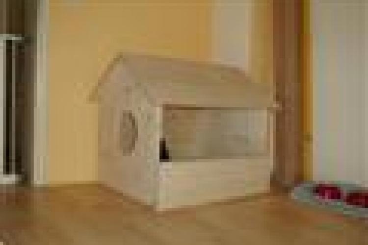 katzenhaus wurfkiste f r katzen bauanleitung zum selberbauen 1 2 deine heimwerker. Black Bedroom Furniture Sets. Home Design Ideas