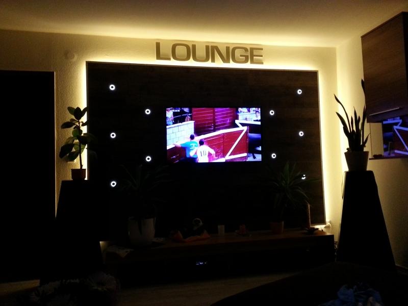 wohnwand tv wand selbst gebaut teil 2 led beleuchtung bauanleitung zum selberbauen 1 2. Black Bedroom Furniture Sets. Home Design Ideas
