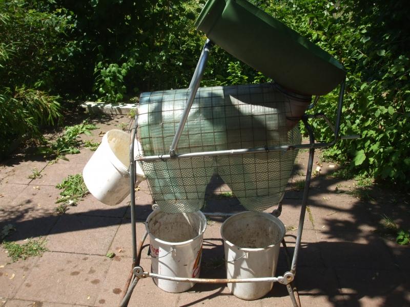 kompost trommelsieb mit separation bauanleitung zum selberbauen 1 2 deine. Black Bedroom Furniture Sets. Home Design Ideas