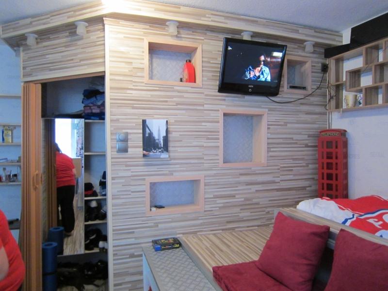 Bekannt Jugendzimmer mit begehbarem Kleiderschrank - Bauanleitung zum EP83