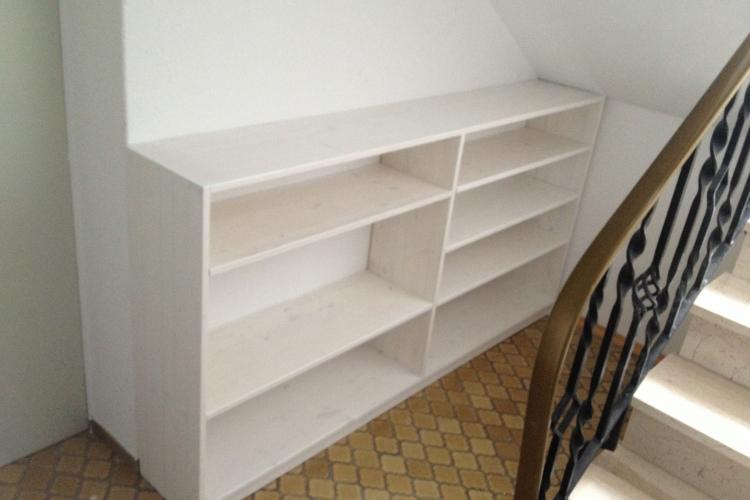 ein schuhregal f r die nische bauanleitung zum selberbauen 1 2 deine heimwerker. Black Bedroom Furniture Sets. Home Design Ideas
