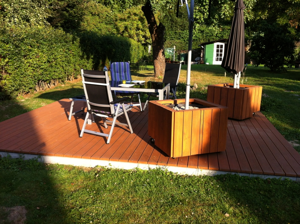 Mobiler Sonnenschirmstander Bauanleitung Zum Selberbauen 1 2 Do