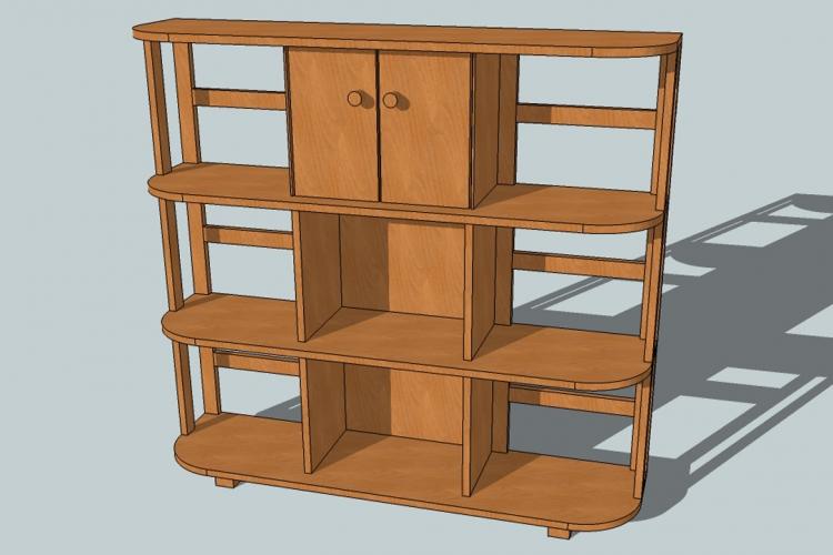b cherboard fernsehschrank bauanleitung zum selberbauen 1 2 deine heimwerker. Black Bedroom Furniture Sets. Home Design Ideas