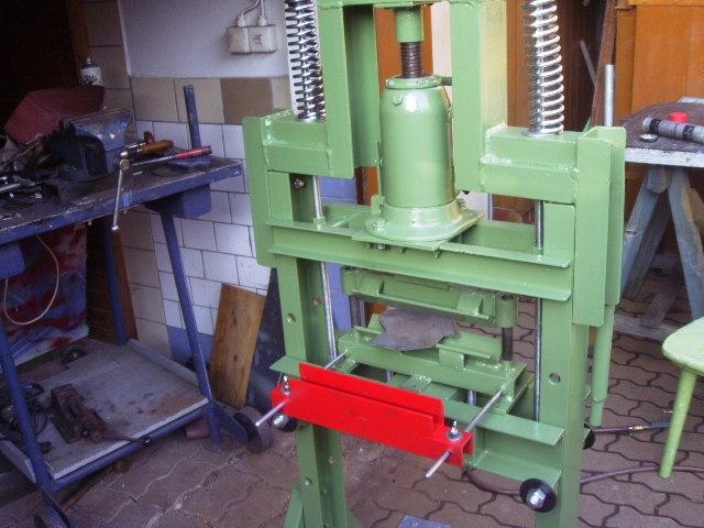 Berühmt Biegewerkzeug mit Presse - Bauanleitung zum Selberbauen - 1-2-do MV76